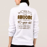90th Birthday Celebration World Best Fabulous Jackets