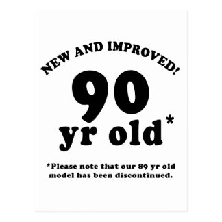 90th Birthday Gag Gifts Postcard