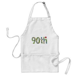 90th Birthday Gifts Apron
