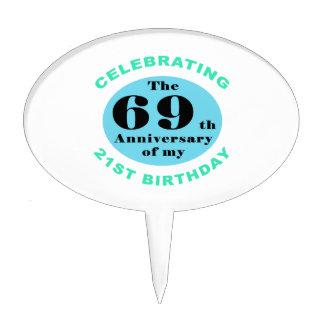 90th Birthday Humor Cake Topper