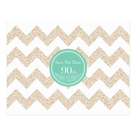 90th Birthday Party Save the Date Choose Colour