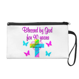 90TH BIRTHDAY PRAYER WRISTLET