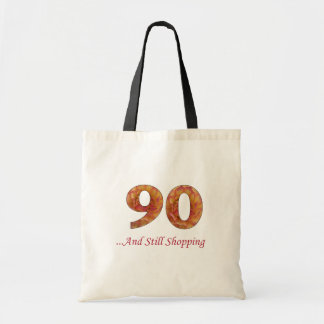 90th Birthday Shopping Tote