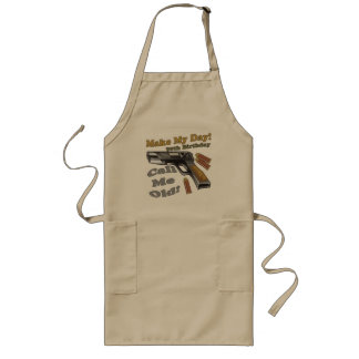 90th Birthday T-shirts and Gifts Long Apron