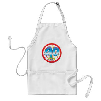 90th Birthday Today Standard Apron