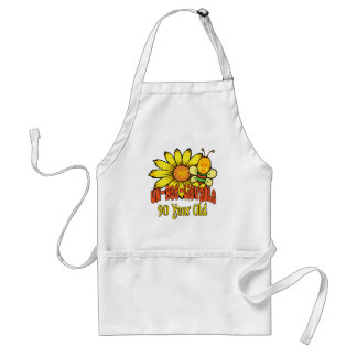 90th Birthday - Unbelievable at 90 Years Old Standard Apron