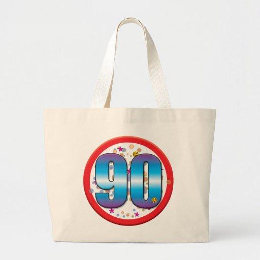 90th Birthday v2 Canvas Bag