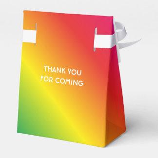 90th Birthday Worlds Best Fabulous Rainbow Favour Box