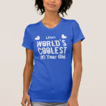 90th Birthday World's Coolest 90 Year Old H90B T Shirt