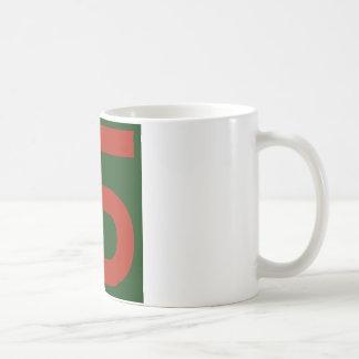 90th Infantry Division Basic White Mug