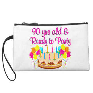 90TH PARTY GIRL WRISTLET CLUTCH