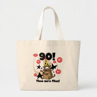 90th Time Flies Birthday Bag