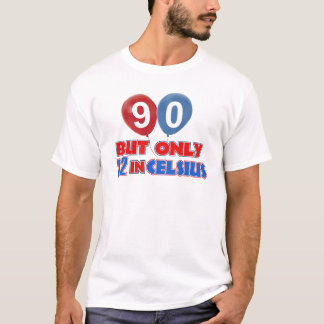 90th year birthday designs T-Shirt