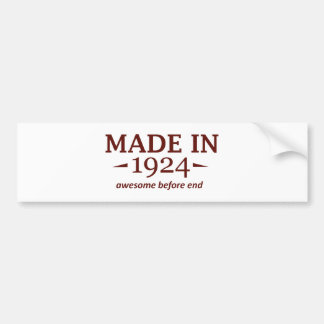 90TH year old gifts Bumper Stickers