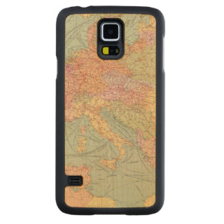 910 Lines of Communication, Central Europe Carved Maple Galaxy S5 Case
