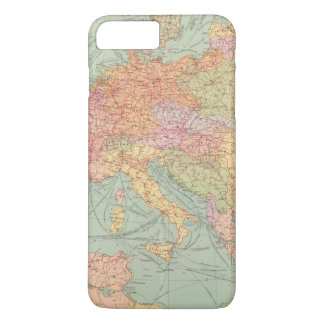 910 Lines of Communication, Central Europe iPhone 8 Plus/7 Plus Case
