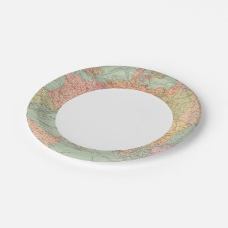 910 Lines of Communication, Central Europe Paper Plate