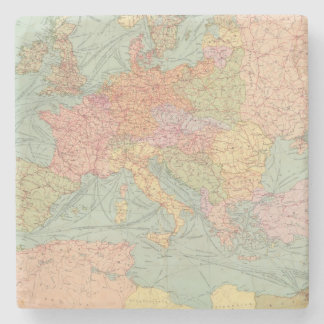 910 Lines of Communication, Central Europe Stone Coaster