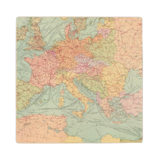 910 Lines of Communication, Central Europe Wood Coaster