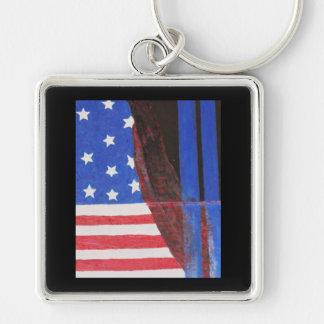 911 Dispatch Center Key Ring