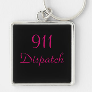 911 Dispatch Center Key Ring