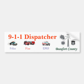 911 Dispatcher Bumper Sticker