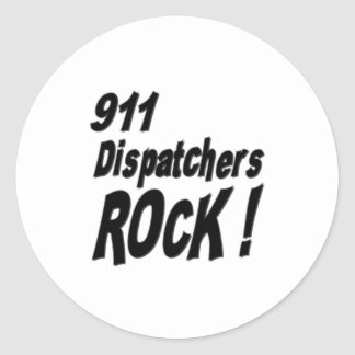 911 Dispatchers Rock! Sticker