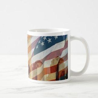 911 eagle flag towers coffee mug