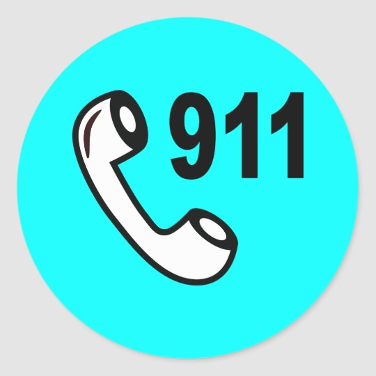 911 EMERGENCY PHONE NUMBER MEDICAL HELP SHOUTOUT CLASSIC