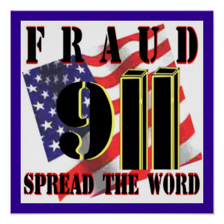 911 Fraud Poster