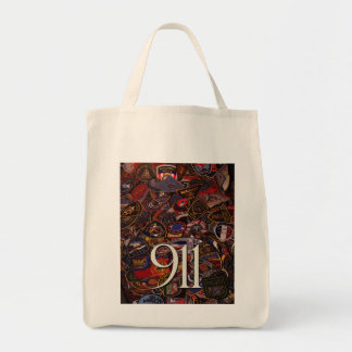 911 gifts and greetings grocery tote bag