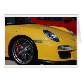 911 GT3 NOTE CARD