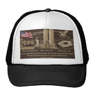 911 memorial cap hats