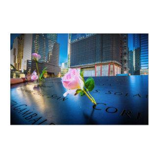911 Memorial NYC Acrylic Wall Art