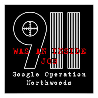 911 Northwoods Poster