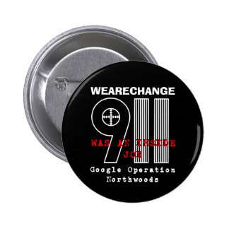 911 Northwoods, WEARECHANGE 6 Cm Round Badge