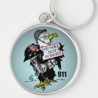 911 Rememberance Key Chain