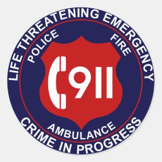911 Sticker 2