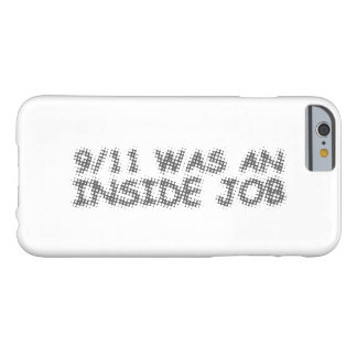 911 was an inside job, bubble barely there iPhone 6 case