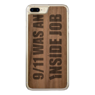 911 was an inside job carved iPhone 7 plus case