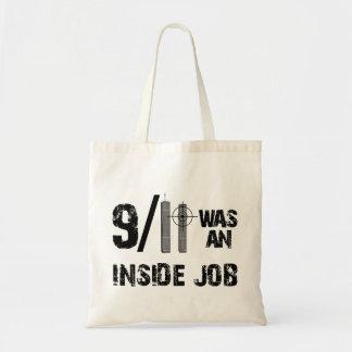 911 Was Inside Job Budget Tote Bag