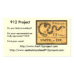 912 Project Business Card Templates