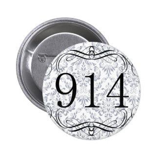 914 Area Code Button