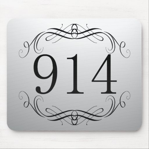914 Area Code Mouse Pad
