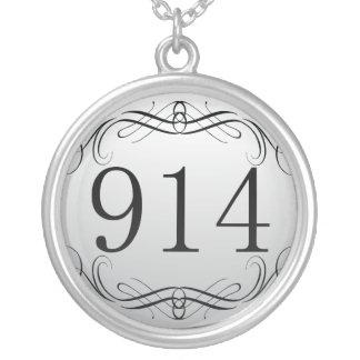 914 Area Code Jewelry