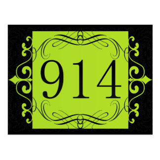 914 Area Code Postcards