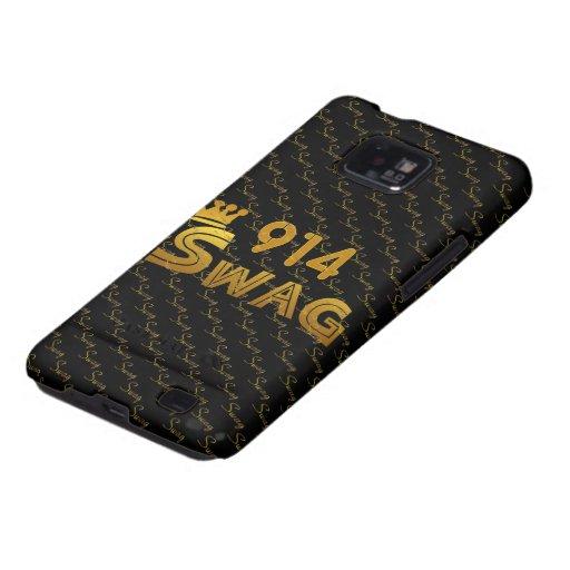 914 Area Code Swag Samsung Galaxy S Cases