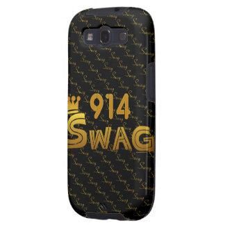 914 Area Code Swag Samsung Galaxy SIII Case