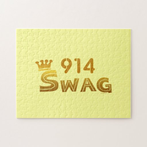 914 Area Code Swag Jigsaw Puzzles