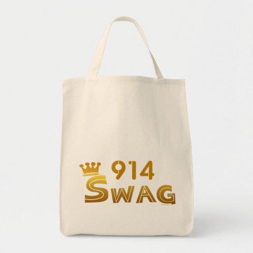 914 New York Swag Canvas Bag